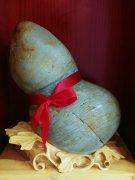 每日一石:长江石《葫芦与福禄 》赏析 图