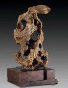 """古典赏石以""""瘦漏透皱""""为结构特征"""