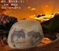 玩石头要观赏天然奇石乐在其中就好!