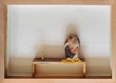 每日一石:祁连玉《千年壁画观世音》赏析 图
