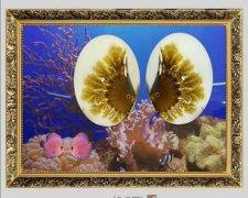 《海洋玉髓一一鱼翔浅底》(鱼儿版)
