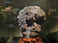 呼和浩特自然博物馆中珍藏的奇特美石 图
