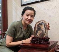 冀豫两地赏石界文化交流参访考察团第七站来到许昌 图