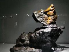 """精美奇石纷纷亮相银川第二届""""赏石艺术节"""""""