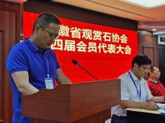 热烈祝贺金保铜当选安徽省观赏石协会会长